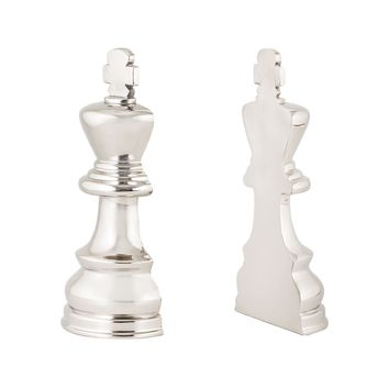 8984-025/S2 Chess Piece Book Ends