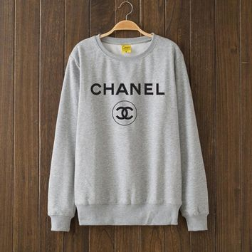 CHANEL Woman Men Top Sweater Pullover F