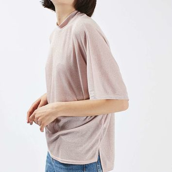 Metallic Batwing T-Shirt - New In This Week - New In