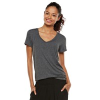 Juniors' Mudd® V-Neck Tee