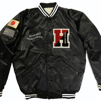 Hypland Quilted Varsity Jacket