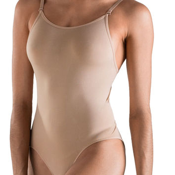 So Danca Women's Nude Camisole Leotard