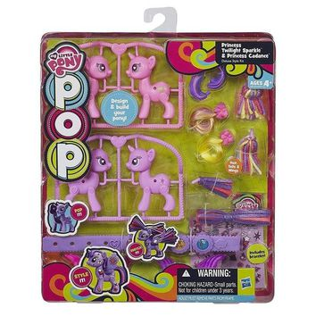 My Little Pony POP Princess Twilight Sparkle & Cadance Deluxe Style Kit