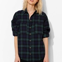 BDG Plaid Double-Pocket Shirt - Urban Outfitters