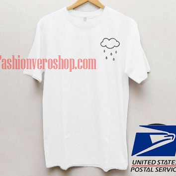 Cloud Rain Unisex adult T shirt