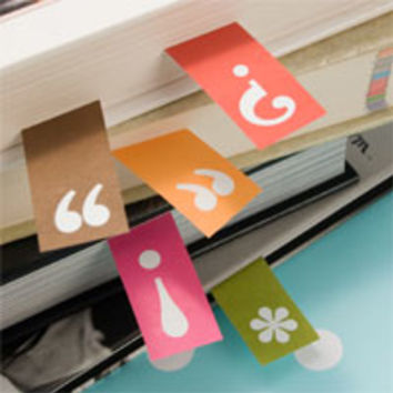 Punctuated Page Markers
