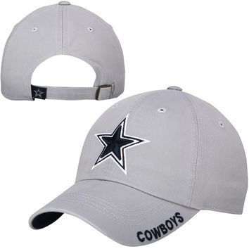 Dallas Cowboys Gray Slouch Adjustable Hat