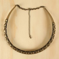 Moroccan Crescent Necklace