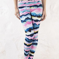 Waves Recycled Mid-Waist Legging