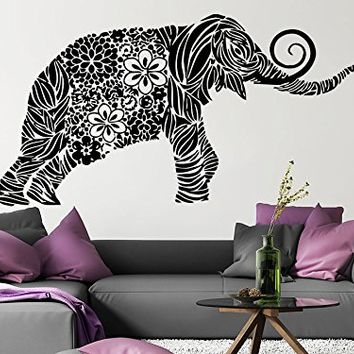 Wall Decal Elephant Vinyl Sticker Decals From Amazon Wall Decal