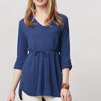 Fluttered Tunic Henley
