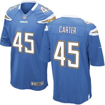 Mens Los Angeles Chargers Nike Powder Blue Customized Alternate Game Jersey