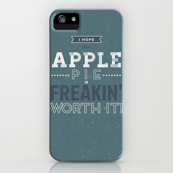Dean Winchester Quote iPhone Case by lucyjayne | Society6