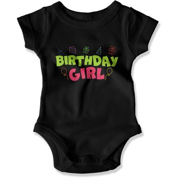 Birthday Girl - Baby Bodysuit