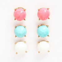 BEAD EARRINGS SET