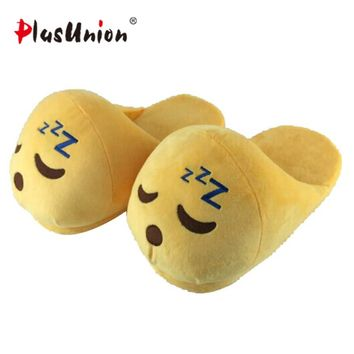 winter plush slippers for women