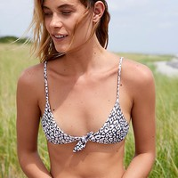 Cathedral Printed Bikini Top
