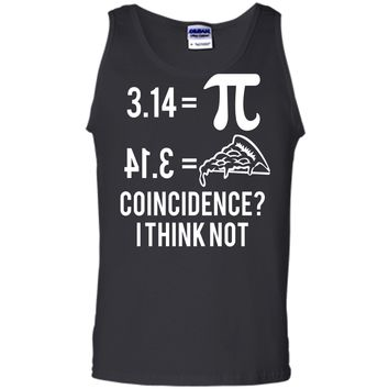 Funny Math Pun Pi Day 2019 Pi Equals Pie T-Shirt Tank Top