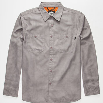 Bohnam Kadett Mens Shirt Heather Grey  In Sizes