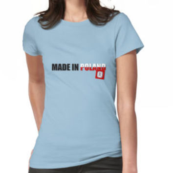 'Made in Poland, original Polish flag colors' T-Shirt by cool-shirts