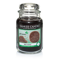 Girl Scout Cookies® Thin Mints® : Large Jar Candles : Yankee Candle