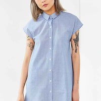 BDG Sleeveless Trapeze Shirt Dress