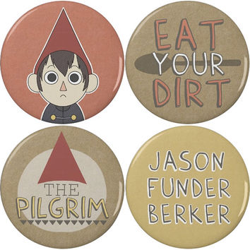 "Over the Garden Wall Wirt 2.25"" Pinback Buttons or Magnets (4 Pack)"