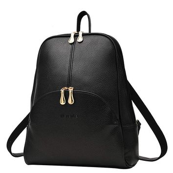 Women's Backpack Purse - Leather Backpack Purse