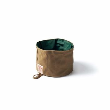 TRAVEL DOG BOWL - TIN CLOTH