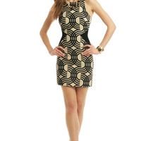David Koma Swirl My Way Dress