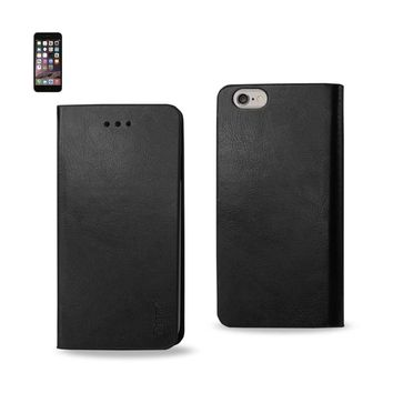 Reiko Iphone 6 Plus Flip Folio Case With Card Holder In Black