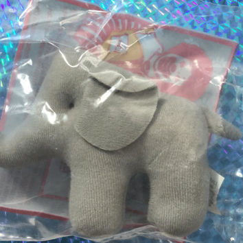 1994 African Elephant Plush Toy Fun! New & Sealed! Amazing National Wildlife Federation Stuffed Animal! Rare! Vintage Toy Retro Great Gift