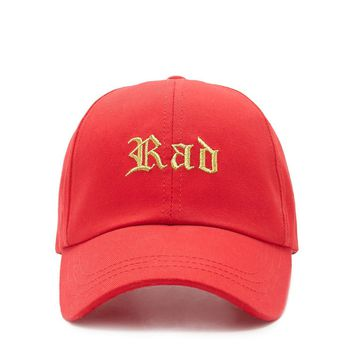 Rad Embroidered Cap