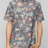 Vans Emery Floral Button-Down Shirt- Indigo M