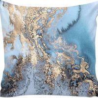 Marble Decor Pillow