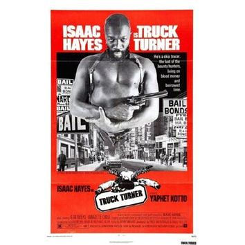 Truck Turner Movie poster Metal Sign Wall Art 8in x 12in