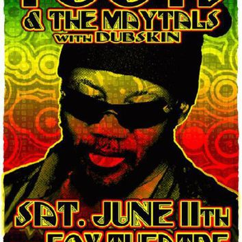 Toots and the Maytals Poster 11x17