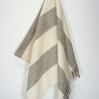 Wool Blanket 'Big Sur'