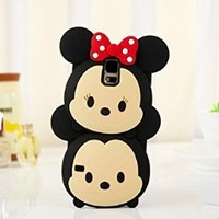 S5 Case, 3D Cute Cartoon Mouse Soft Silicone Case Cover for Samsung Galaxy S5 / Galaxy SV / Galaxy S V / Galaxy i9600