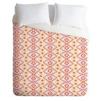 DENY Designs Home Accessories | Amy Sia Ikat 2 Cherry Duvet Cover
