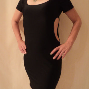 MJCREATION made to order dress with side opening all size choice of colors
