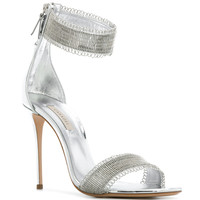 Casadei Embellished Strap Sandals - Farfetch
