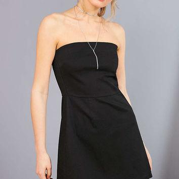 Silence + Noise Strapless A-Line Mini Dress - Urban Outfitters