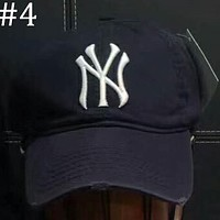 MLB 2018 men and women with the same cap NY Yankee hat F-XMCP-YC #4