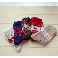 Men's Fuzzy Warm Winter Collection Socks - 4 Colors