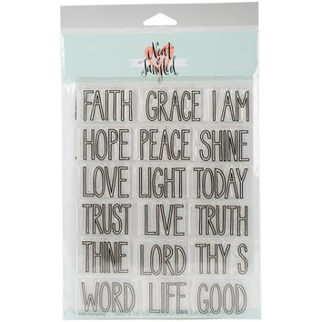 "Neat & Tangled Clear Stamps 6""""X8""""-Bible Journaling"