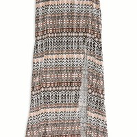 AEO 's Effortlessly Chic Side Slit Maxi (Chalk)