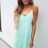 Summer Women Sexy Chiffon V-Neck Simple Sleeveless Mini Dress Sleeveless Party Evening Woman Dress Mini Dress Beach Sundress