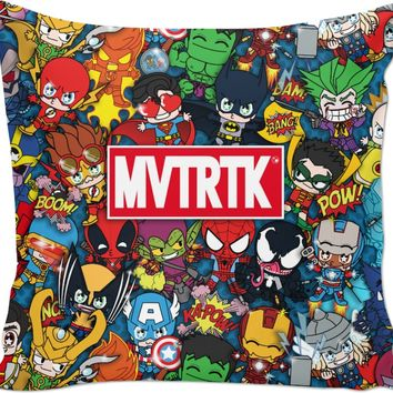 ROCP MVTRTK SUPER HEROES Couch Pillow