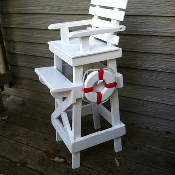 Lifeguard Stand Toddler Photo Prop